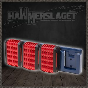 Batteriholdere - 4 VARIANTER